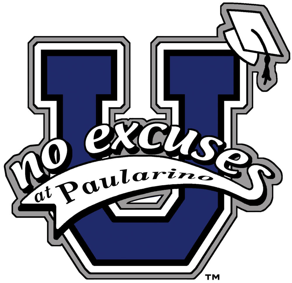 No Excuses University Paularino Logo